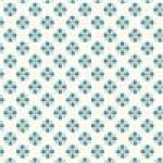 Tulip Tile Blue, 1/24