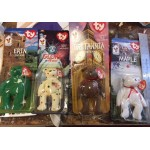McDonalds Beanie Babies set of 4
