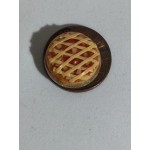 Lattice apple pie, 1/2 inch scale
