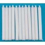 white candles, 12pcs in package