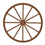 Wagon Wheels, 3 inch