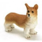 Corgi red and white, Half scale