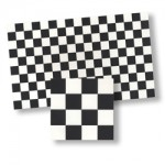 Black and White tile, 1/2