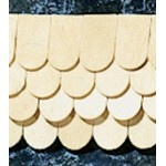 fishscale shingles, 400pcs 1/24