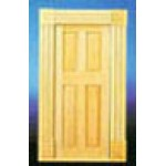 Fancy door with trim, 1/12""