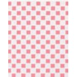 Pink and White Tile Floor, 1/12""