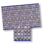 Delft tile sheet one inch
