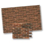 Brick Sheet, Antique 1/12""