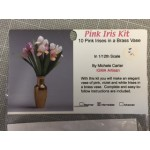 Pink Irises Kit by Michele Carter