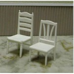 Ladder Back Chair, 1/2""