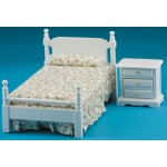 Single bed with night stand, 1/12