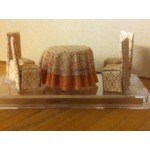 Dining Set, 1/48 scale