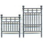 Brass or Iron bed, quarter scale