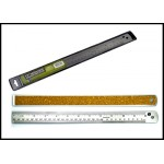 12 inch corked back ruler  SAE and Metric