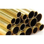 Round brass tube, 1/16 by 12""